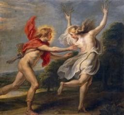 Apolo persiguiendo a Dafne cornelis de vos