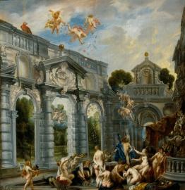 El amor de Cupido y Psique Joerdens