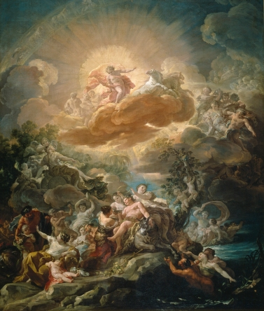 El nacimiento del Sol y el triunfo de Baco Corrado Giaquinto