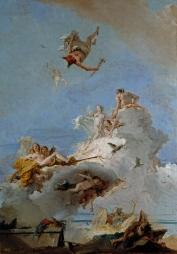 El Olimpo, o Triunfo de Venus Tiepolo