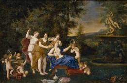 El tocador de Venus albani francesco