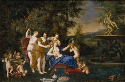El tocador de Venus albani