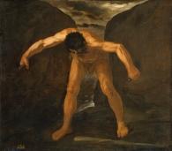 Hércules separa los montes Calpe y Abyla,
