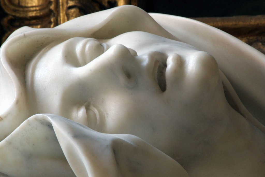 beata albertona, bernini