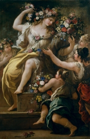La diosa Flora Luca Giordano