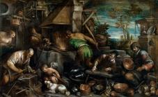 La fragua de Vulcano Bassano, Jacopo