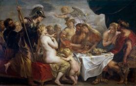 Las bodas de Tetis y Peleo joardens