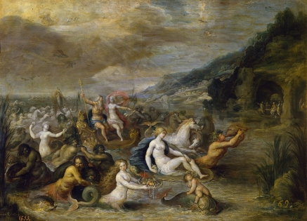 Neptuno y Anfitrite Frans