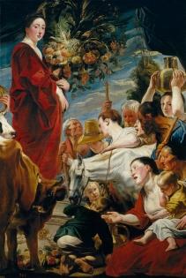 Ofrenda a Ceres Jordaens