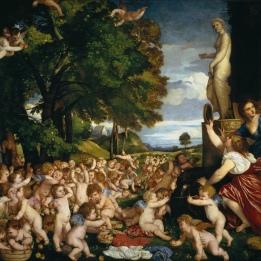 Ofrenda a Venus tiziano