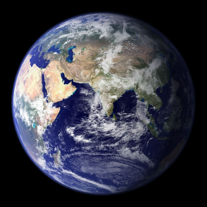 La Tierra, Hemisferio Este