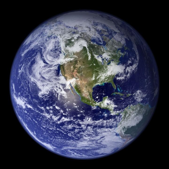 La Tierra, Hemisferio Oeste
