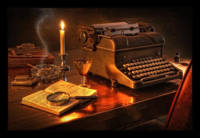 -De cuando escribía-