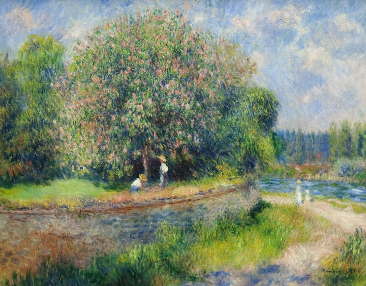 Pierre-Auguste_Renoir_-_Chestnut_Tree_in_Bloom