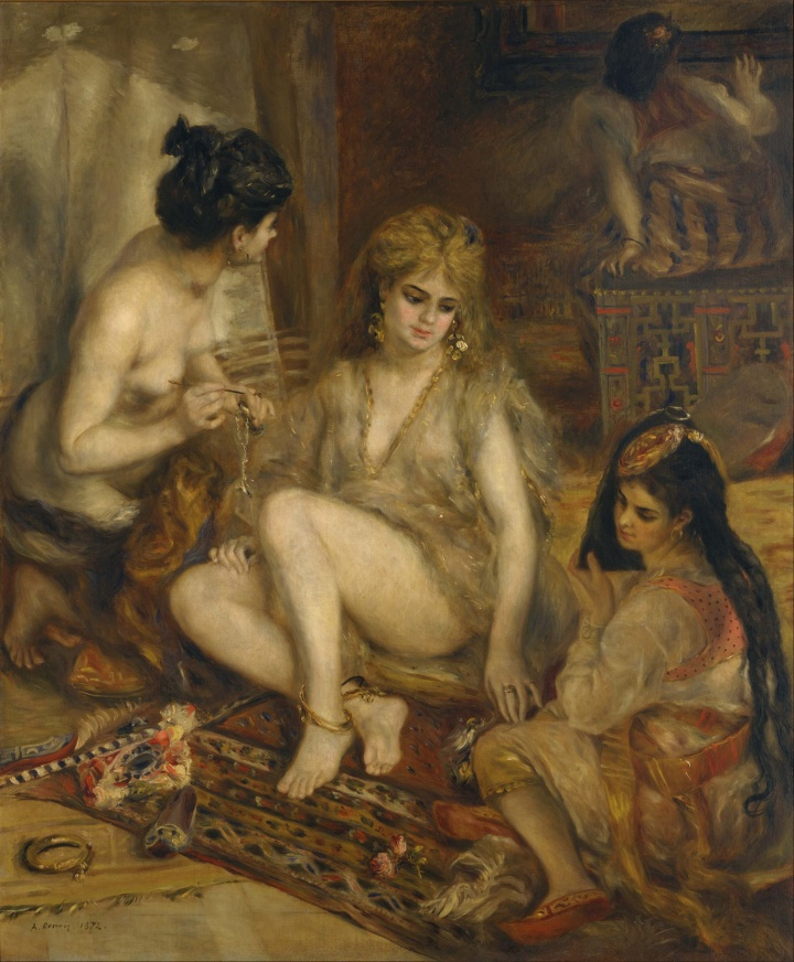 Pierre-Auguste_Renoir_-_Parisiennes_in_Algerian_Costume_or_Harem_-_Google_Art_Project