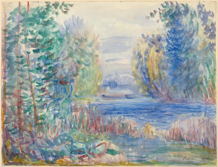 Pierre-Auguste_Renoir_-_River_Landscape,_1890_-_Google_Art_Project