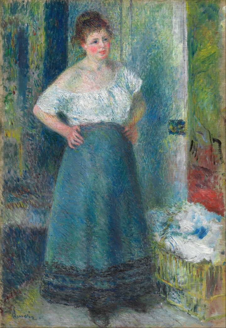 Pierre-Auguste_Renoir_-_The_Laundress_-_Google_Art_Project