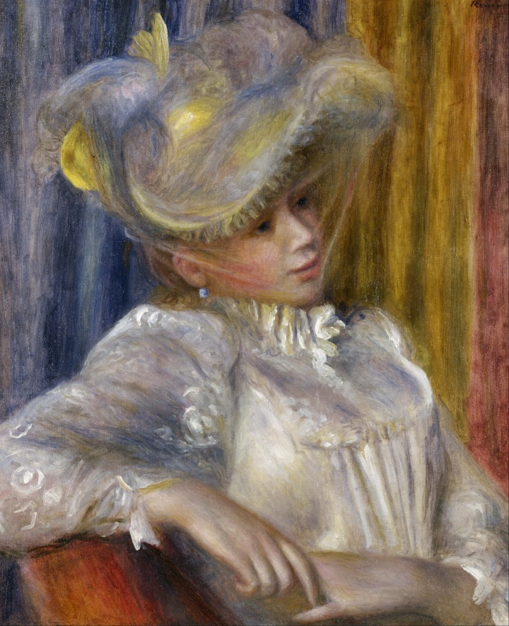 Pierre-Auguste_Renoir_-_Woman_with_a_Hat_-_Google_Art_Project