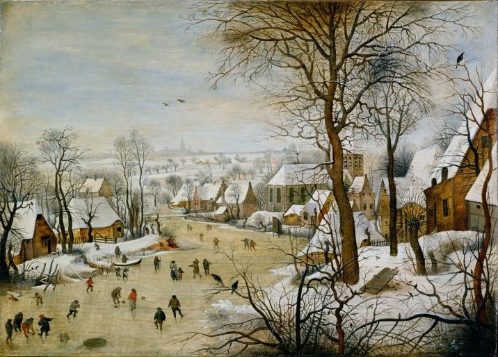 Pieter_Brueghel,_the_Younger_-_Winter_Landscape_with_Bird_Trap_-_Google_Art_Project