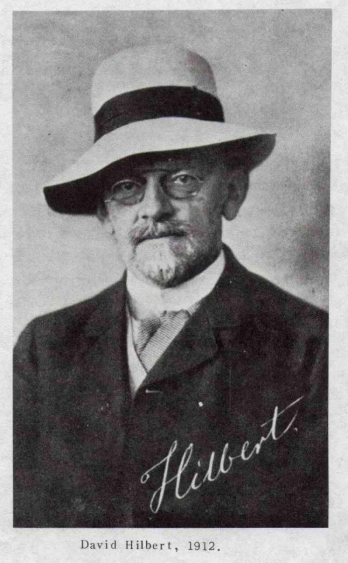 David Hilbert (1862-1943)
