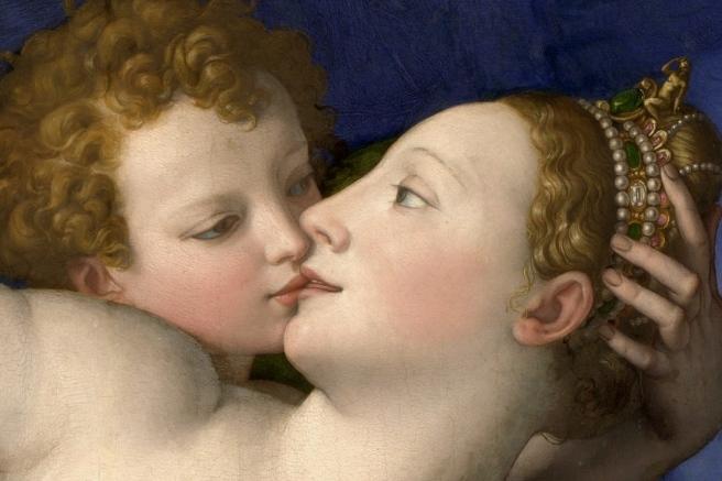 DetalleAlegoría del triunfo de Venus Angelo_Bronzino_