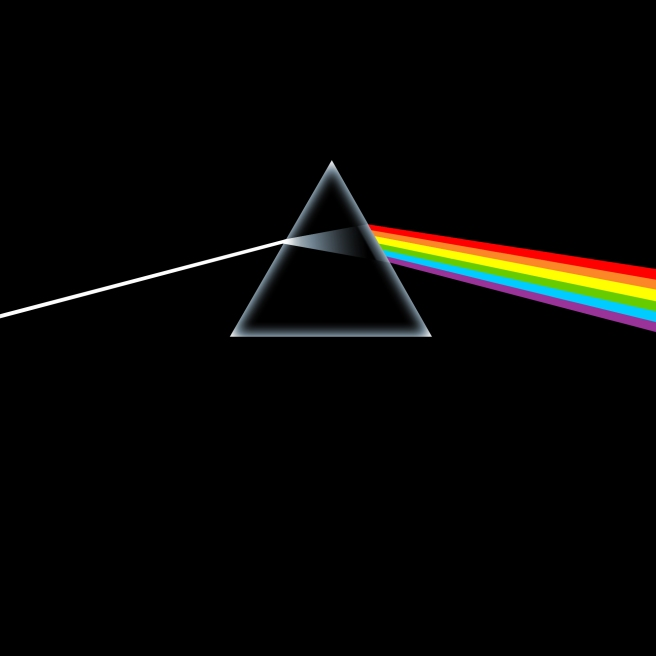 The dark side of the moon  -Pink Floyd
