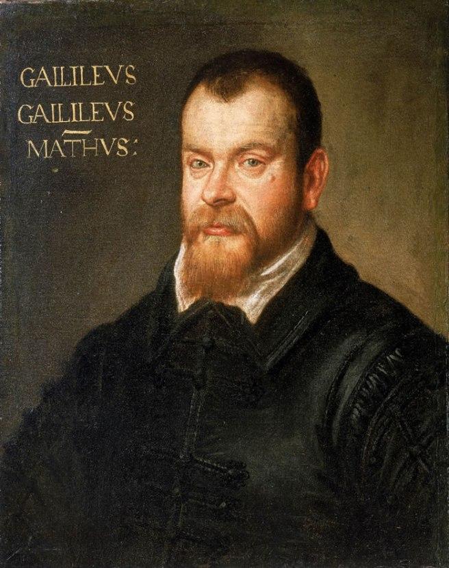 Galileo Galilei. Domenico Tintoretto (Pintura de 1605 a1607)