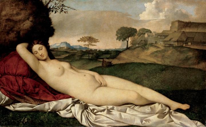 El sueño de Venus, Giorgione