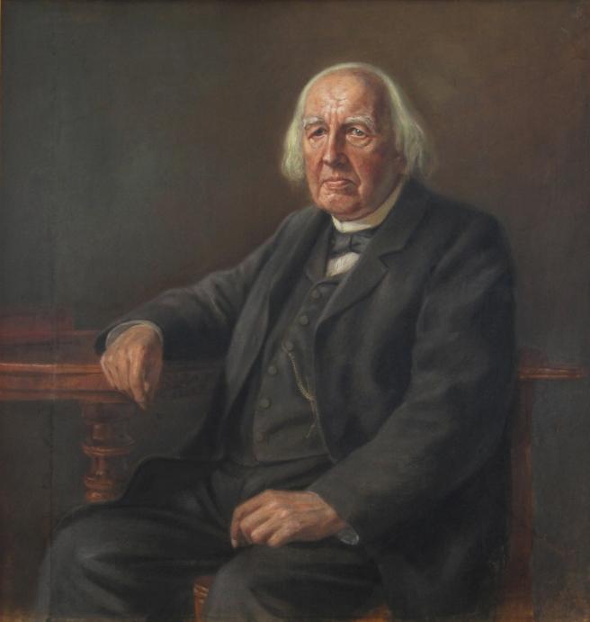 Karl Weierstrass (1815-1897), por Conrad Fehr (1895)