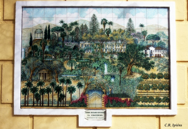 Mapa Mosaico del Jardín