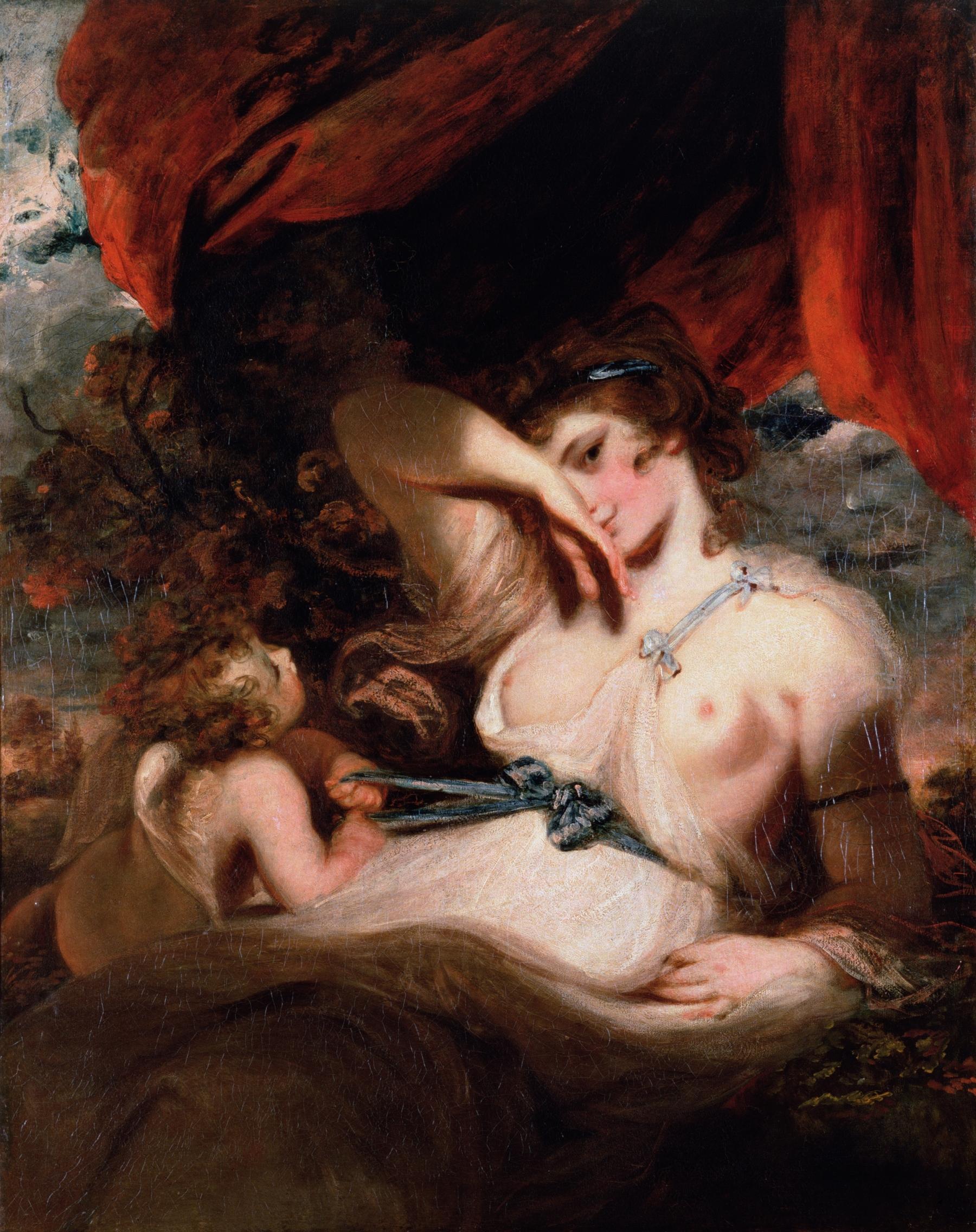 Cupido desatando el lazo de Venus, Reynolds Joshua