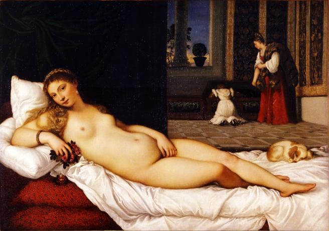 Venus de Urbino, Tiziano