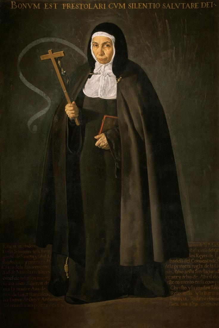 12 1620 La venerable madre Jeronima de la Fuente