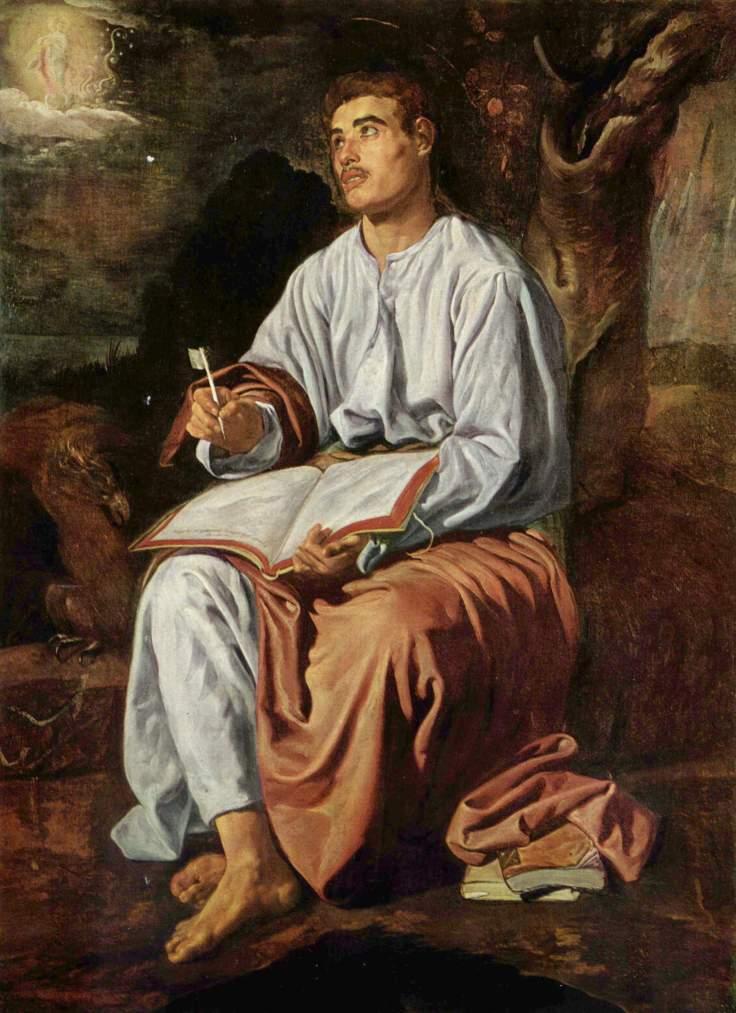 20 John the Evangelist from Patmos