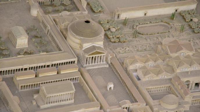 Panteón de Agria, Roma
