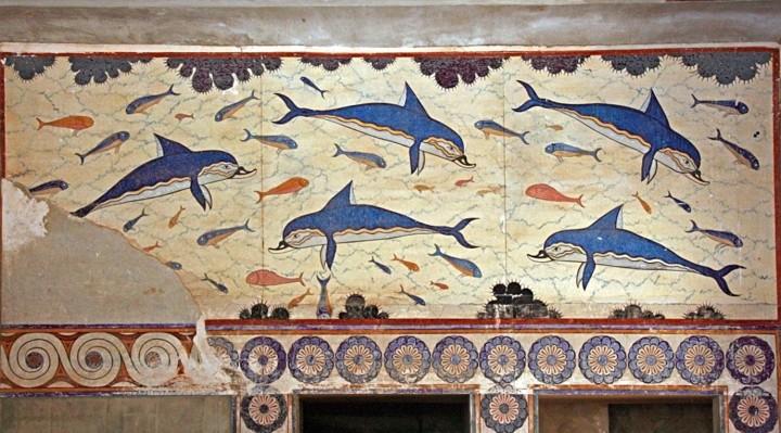 Los delfines de Knossos