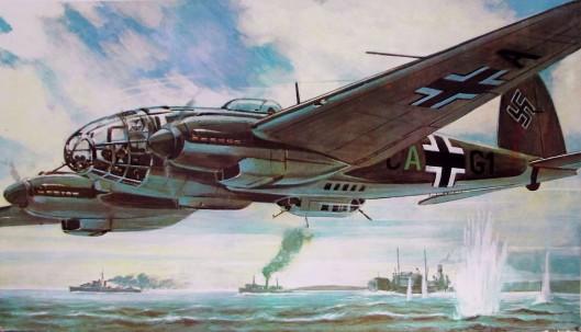 Bomardero Heinkel 111H