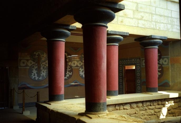 Palacio de Knossos, Creta.