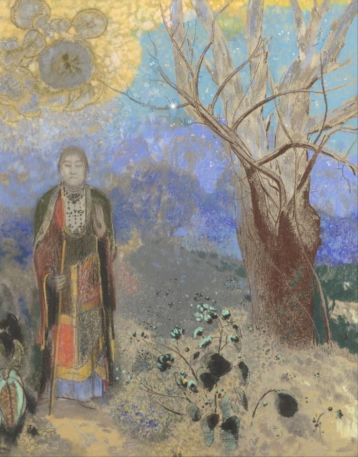 Odilon_Redon_-_Buddha_-_Google_Art_Project