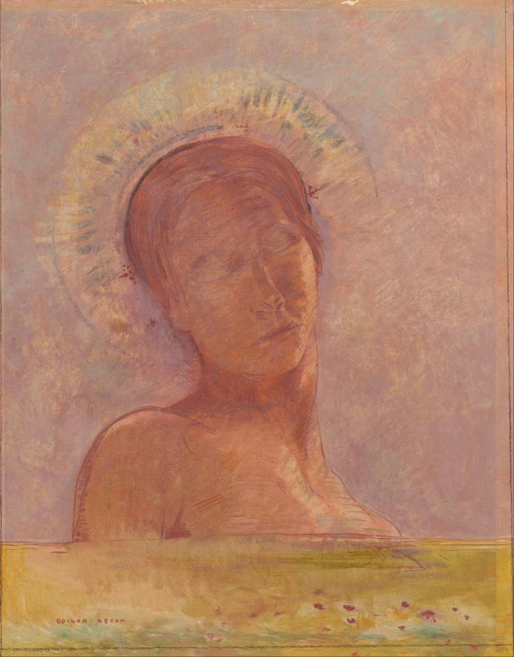 Odilon_Redon_-_Closed_eyes_-_Google_Art_Project