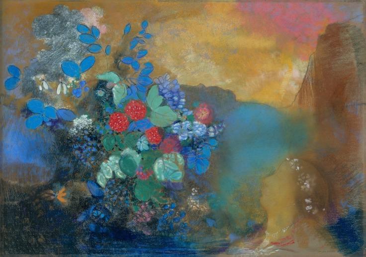 Ophelia_Among_the_Flowers_1905-1908_Odilon_Redon
