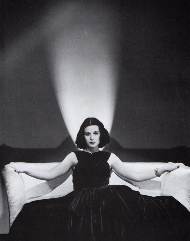 Hedy Lamarr o el glamour.