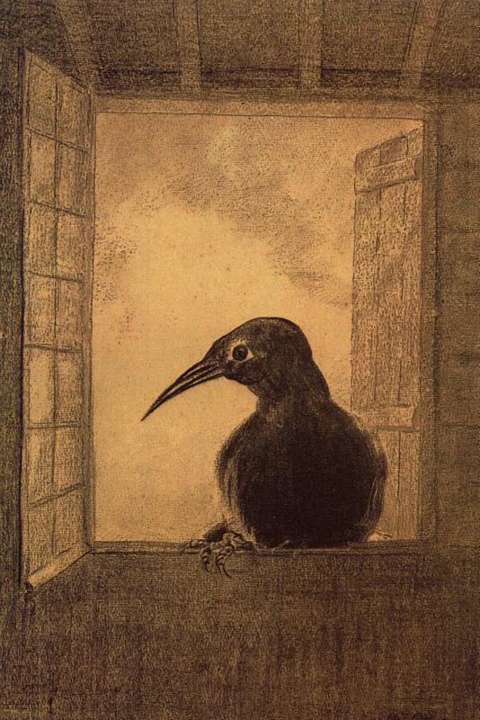 Redon_the-raven