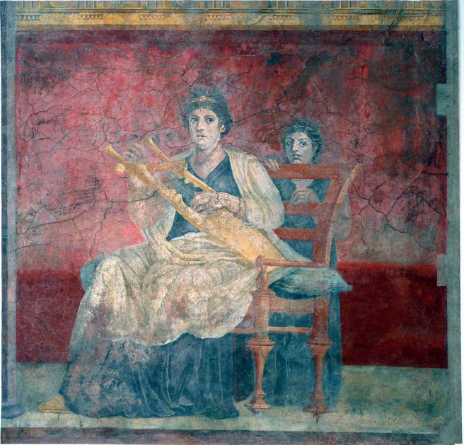 Fresco de la pared del Hall (1)