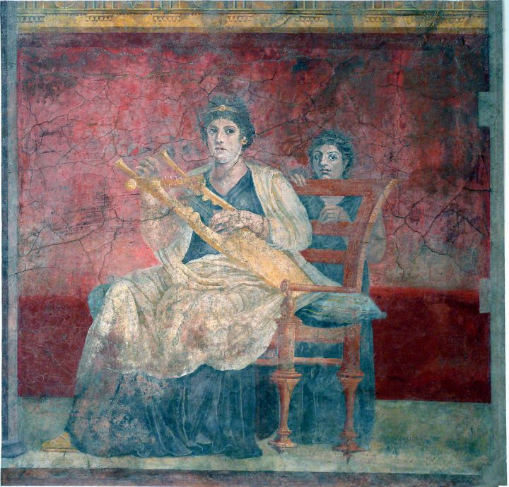 Fresco de la pared del Hall (1)