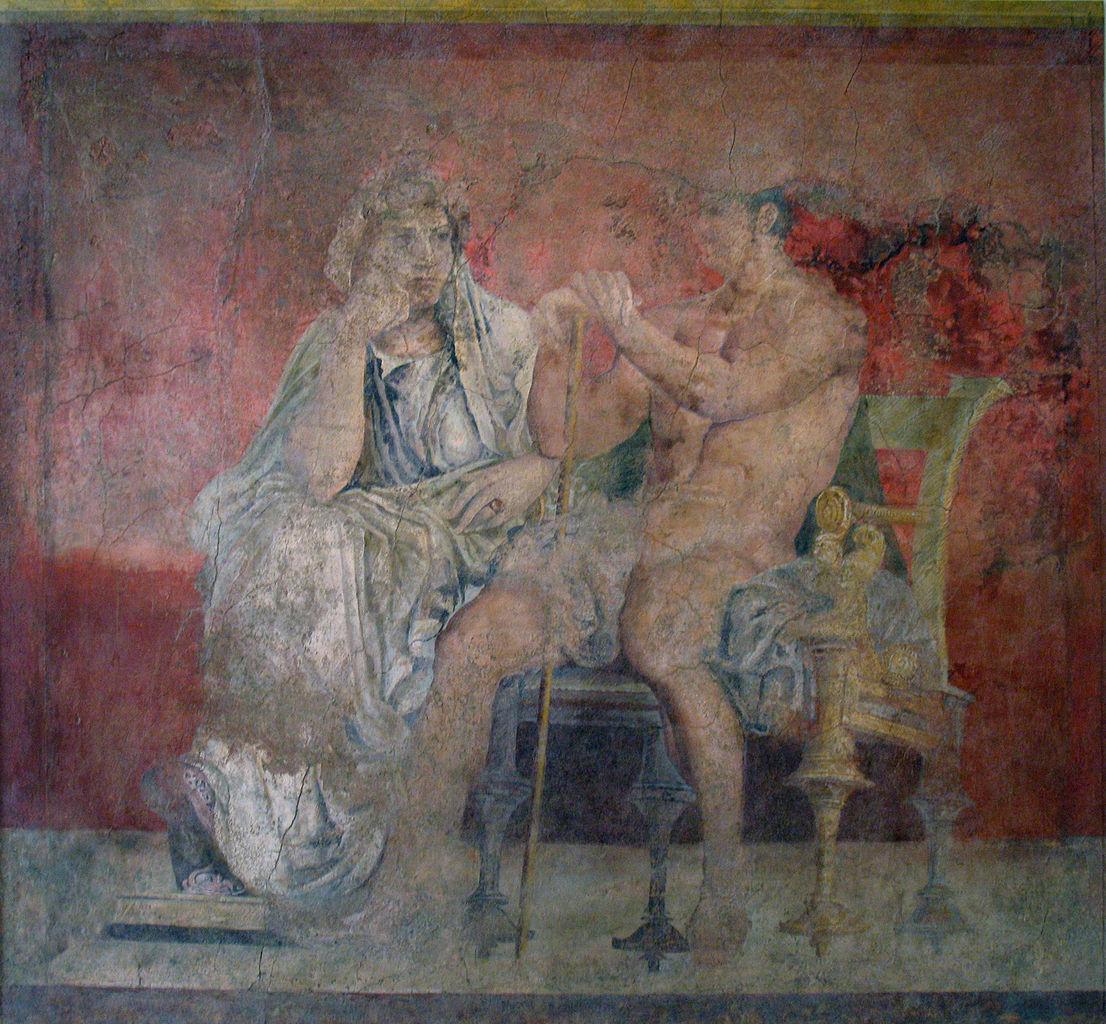 Fresco de la pared del Hall (2)