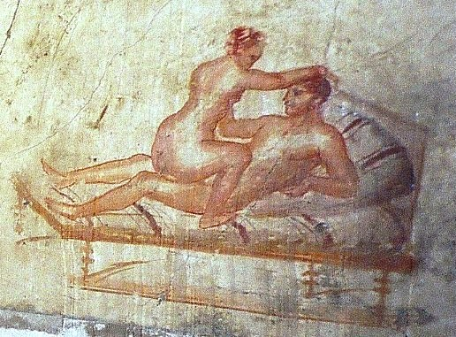 Pompeii wall painting