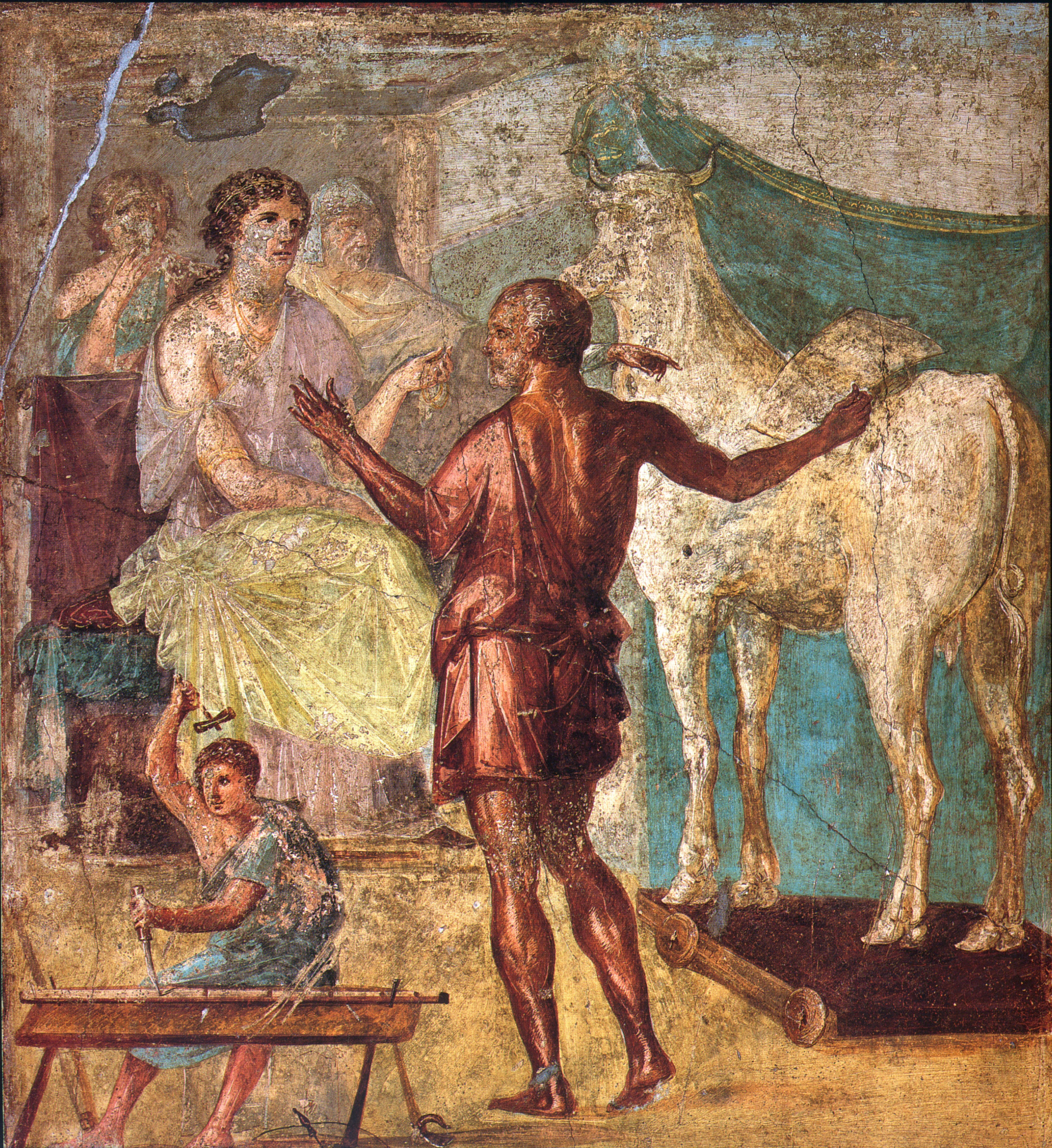 Image result for house of mysteries pompeii