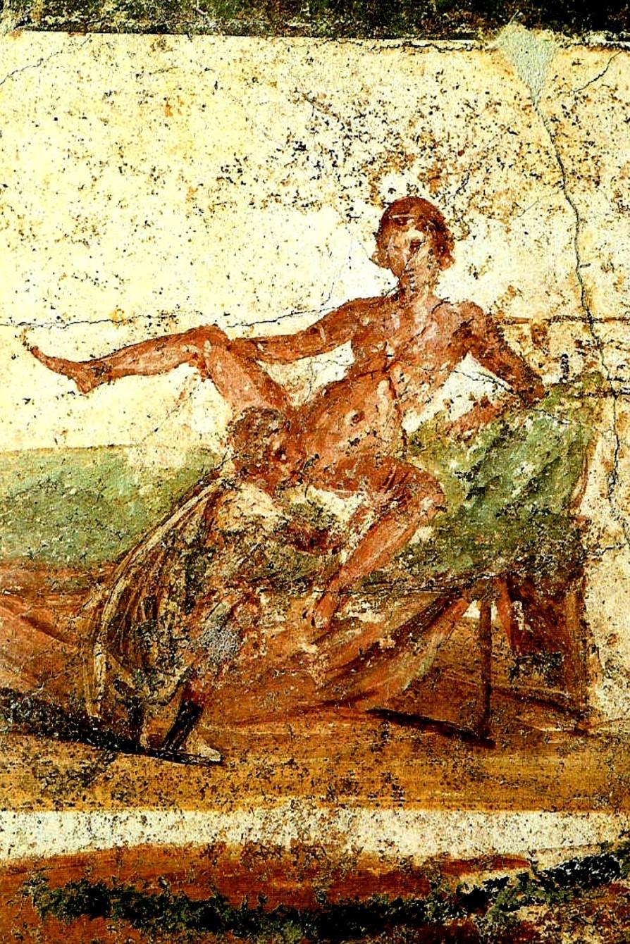 Fresco erótico Pompeya