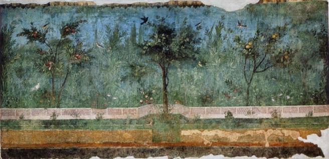 Frescos en La Villa de Livia (Segundo estilo)
